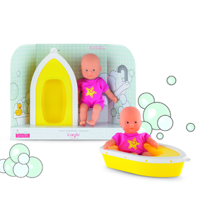 SET MARE MINI CALIN ROSA + BARCHETTA