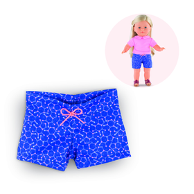 MC SHORT BLU FANTASIA