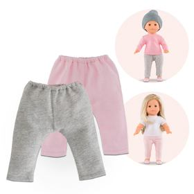 MC SET 2 LEGGINGS ROSA/GRIGIO NEW 01-2019